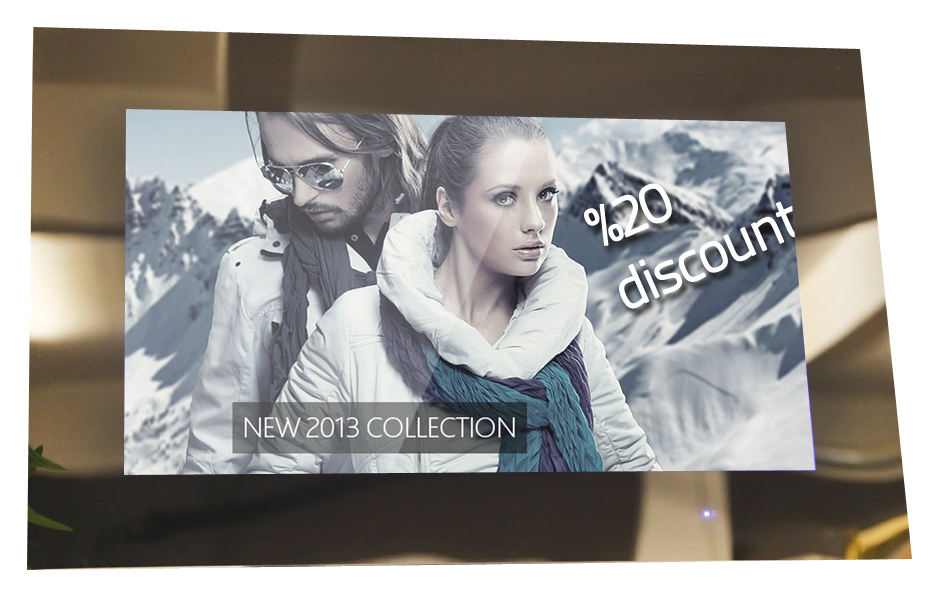 Mrror Tv Ayna arkası LCD