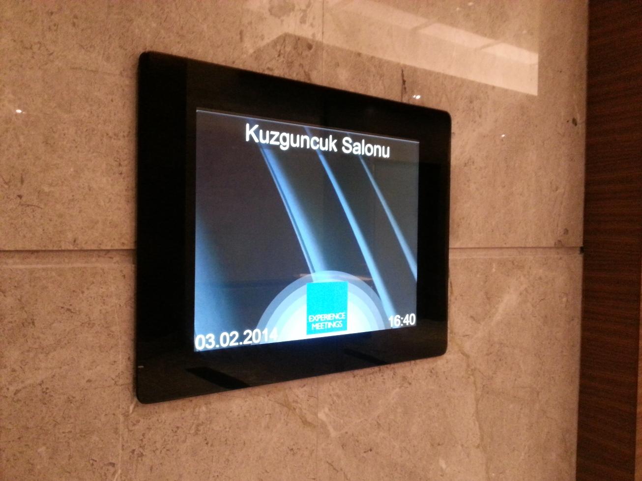 Toplantı odası yazılımı ve toplantı salonu yönetim sistemi