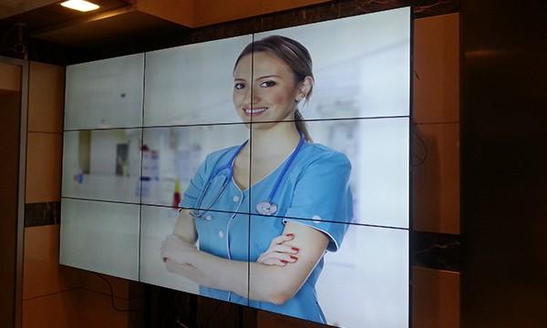 Hisar Intercontinental Hospital Videowall Ekran