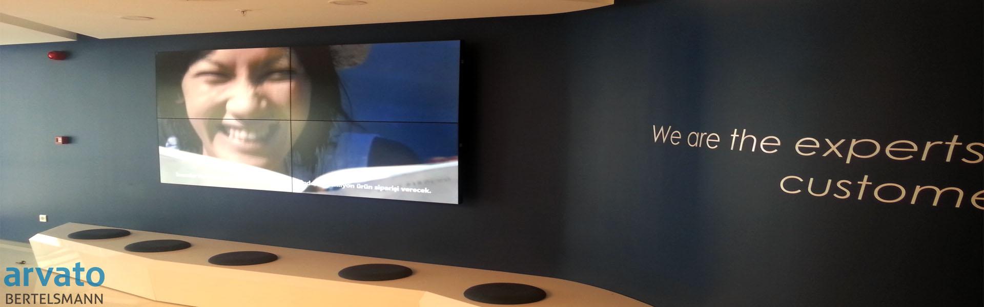 arvato-videowall