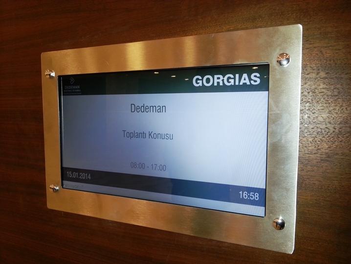 Toplantı odası ekranları dedeman otel