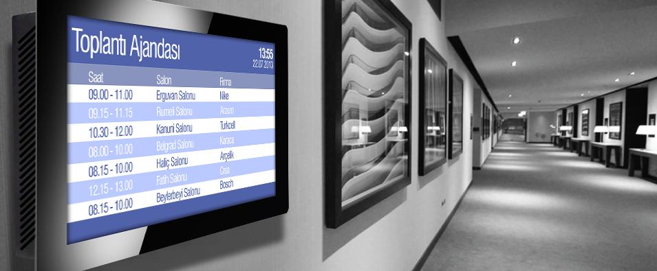 Toplantı odası ekranları ve Toplantı salonu görüntüleme sistemleri
