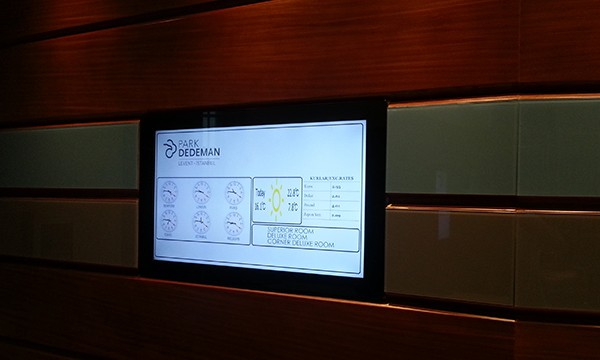 Dedeman Park Levent Digital Signage Projesi