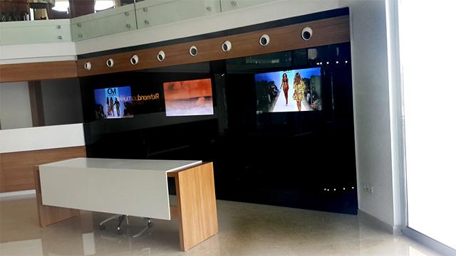 Richmond Pamukkale Cam Arkası Ankastre Ekranlar