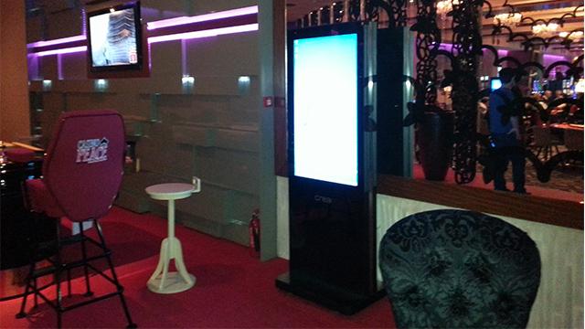 Gurcistan Batum Peace Casino Outdoor Ekran ve Totemler