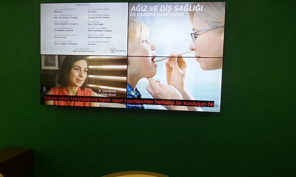 Via Hospital Videowall Uygulaması