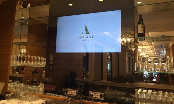 Arcade Hotel Şişli Digital Signage