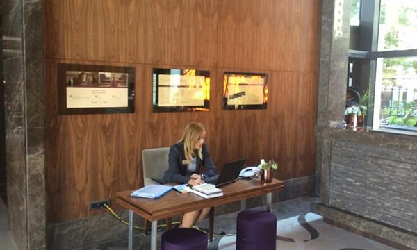 Mercure Hotel Topkapı Digital Signage Sistemi