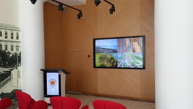 Samsun Büyükşehir Belediyesi 4K 84″ Ekran, Videowall, Kiosk ve Kürsü