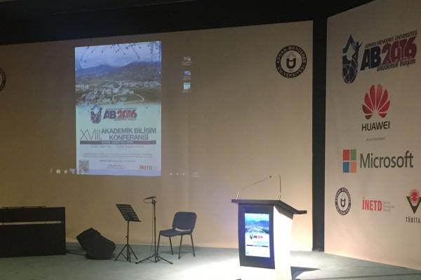 Akademik Bilişim 2016′ ya Sponsor Olduk