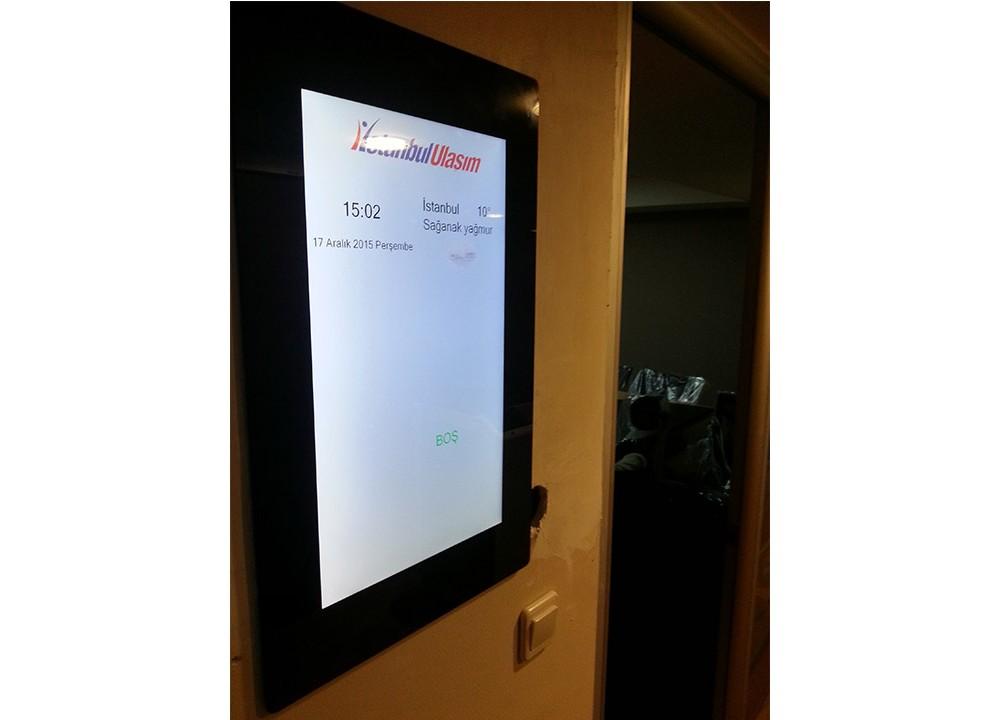 İstanbul Ulaşım A.Ş Toplantı Odası Ekranları