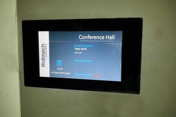 Rollmech Bursa Toplantı Odası Ekranları