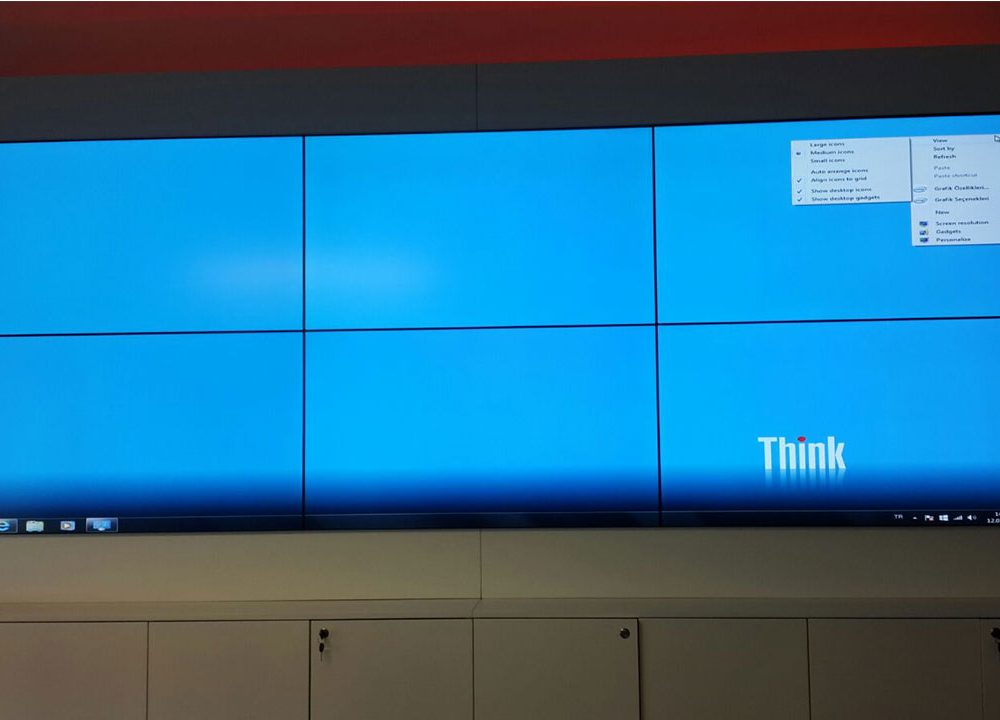 Toyota 2×3 Videowall