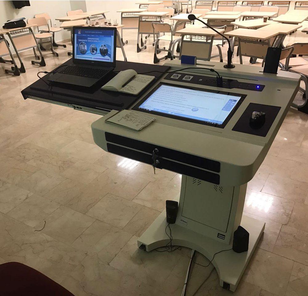 Şeyh Edebali Üniversitesi Akıllı Sınıf Projesi
