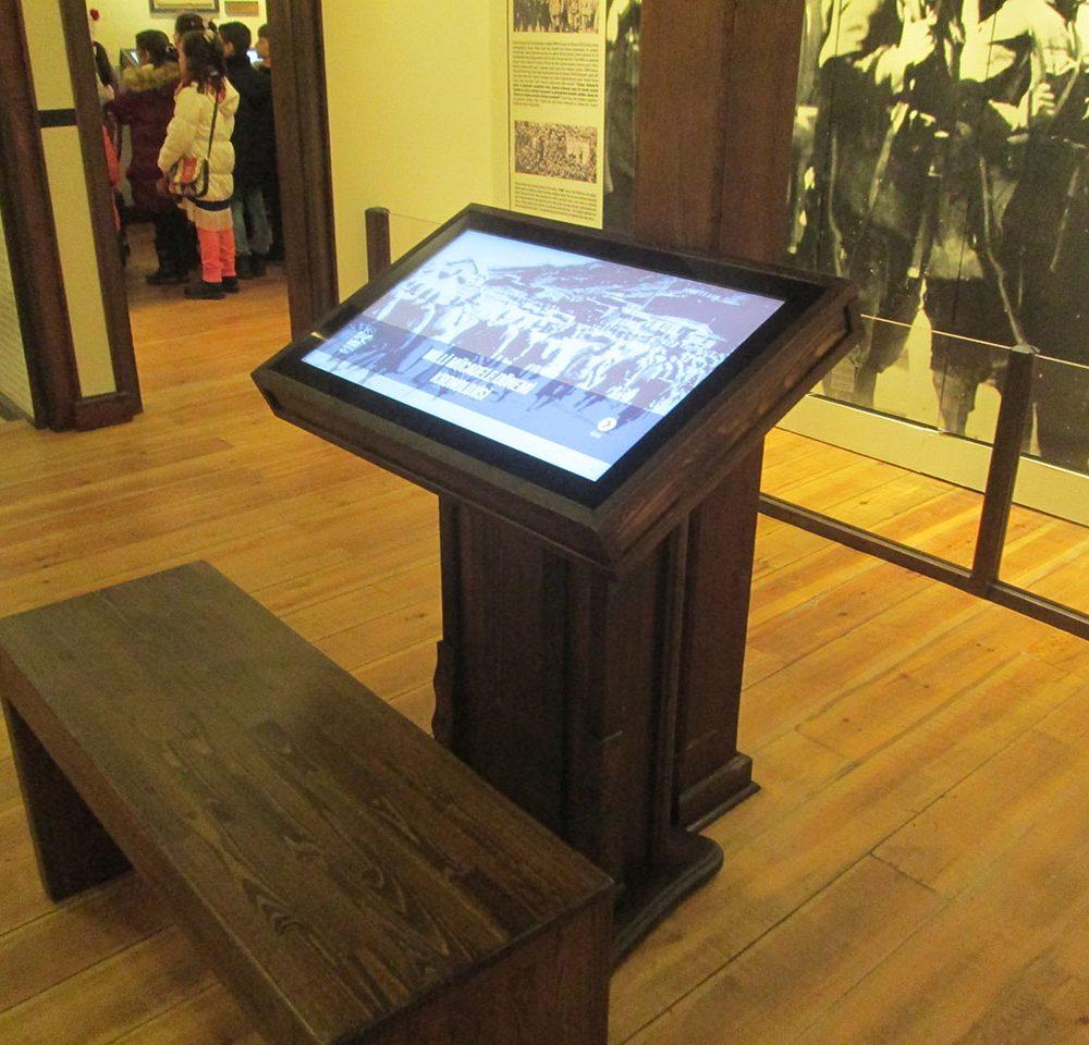 Eskişehir Belediyesi Kurtuluş Müzesi Ahşap Kiosk