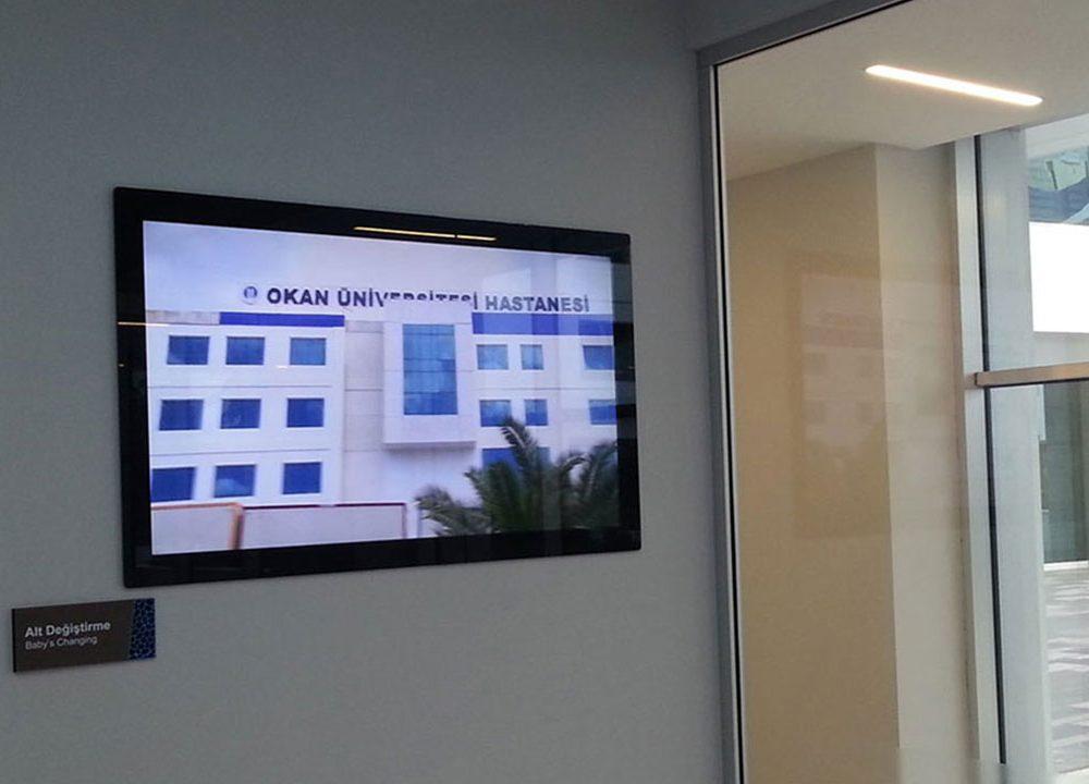 Okan Üniversitesi Doktor Kapı Ekranları Projesi Temas Teknoloji Tarafından Tamamlandı