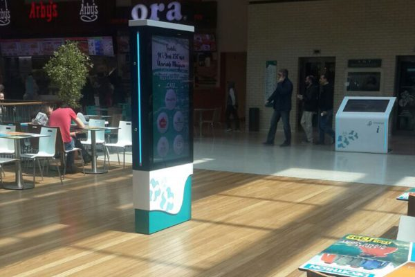 İzmir Optimum AVM Digital Signage & Wayfinding Projesi