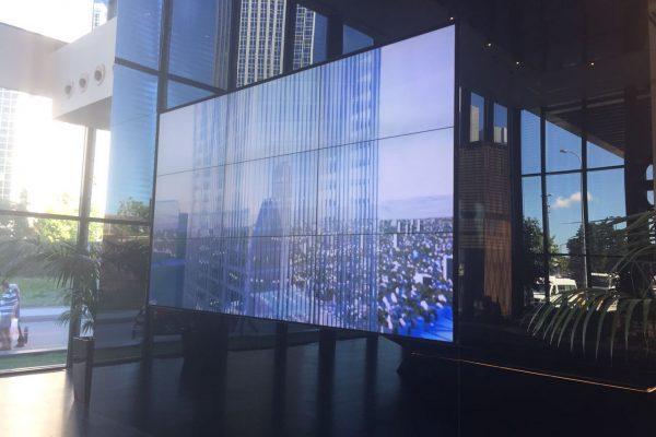 Metal Yapı Istanbul Tower Videowall