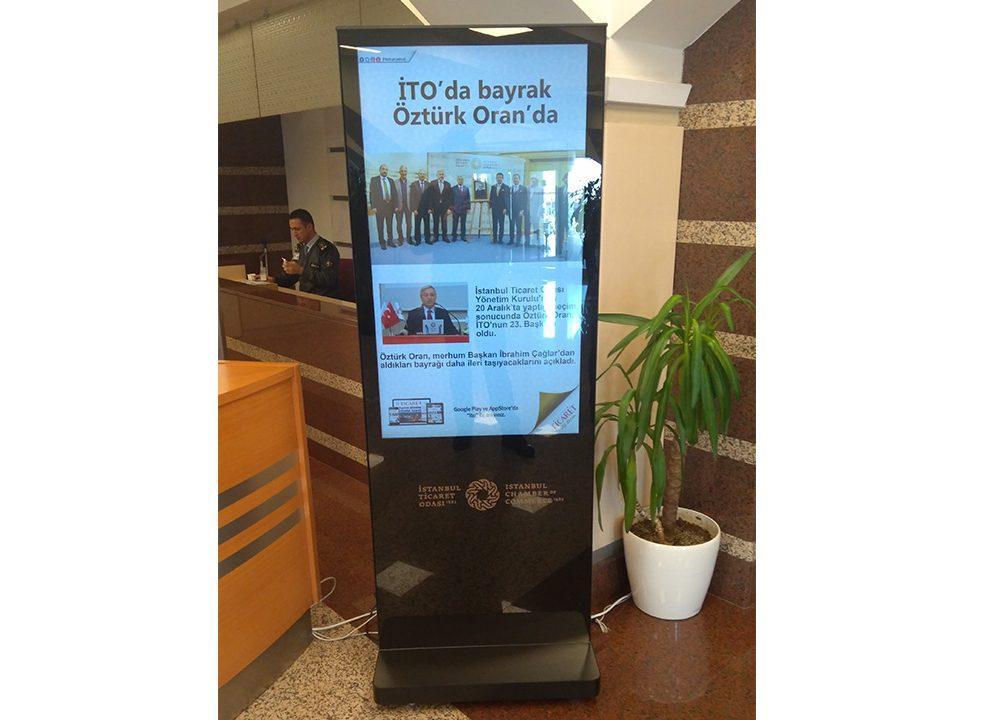 Istanbul Ticaret Odası Kurum İçi Bilgilendirme Sistemleri Projelendirildi