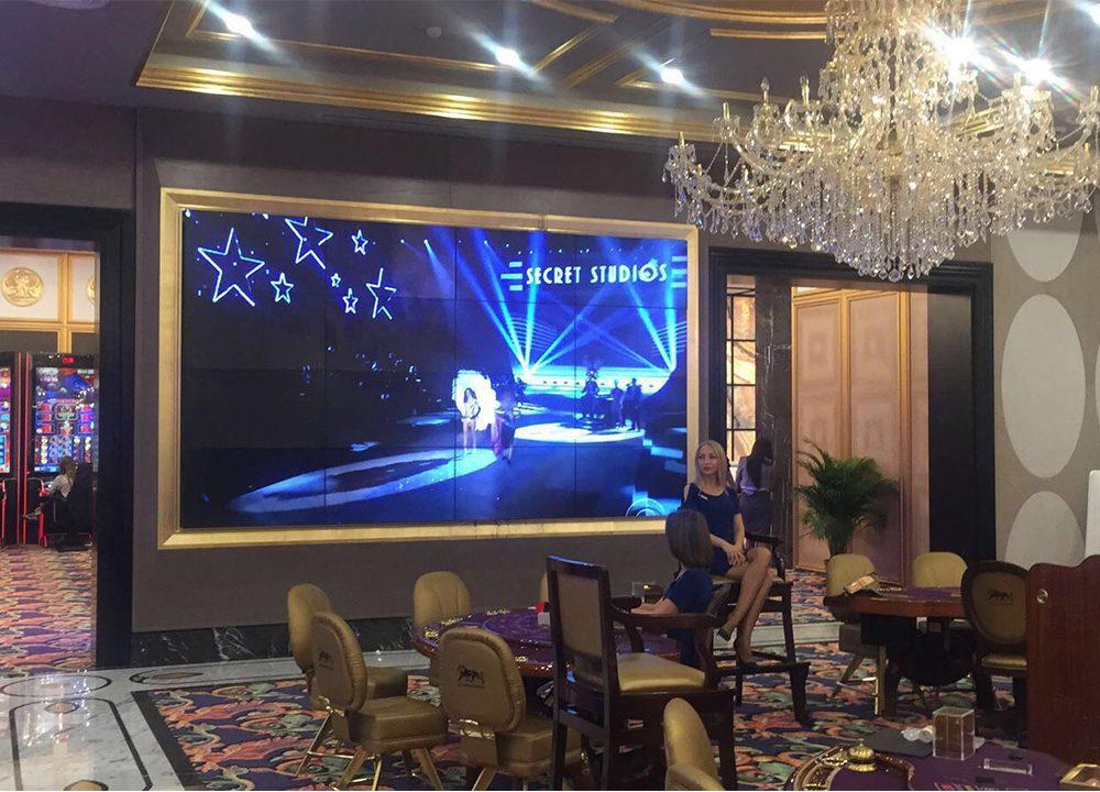 Les Ambassador Hotel&Casino Videowall Ekranlarla Tanıştı