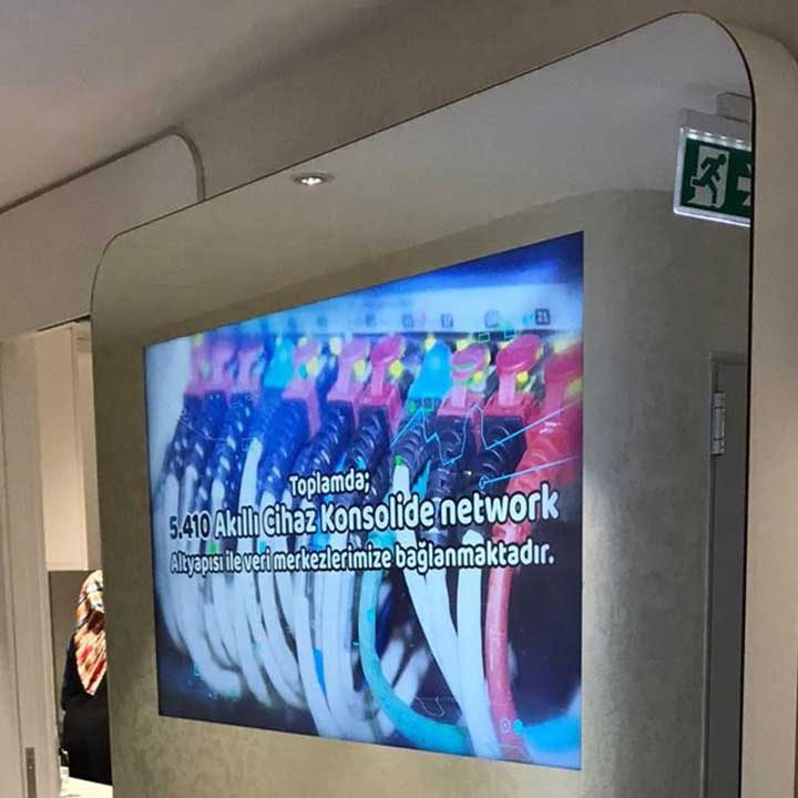 Wall Mirrors Tv Feature Wall With Mirror Mirror Feature: Magic Mirror TV 's - Digital Signage
